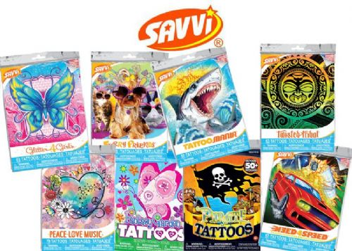 Savvi Themed Packets